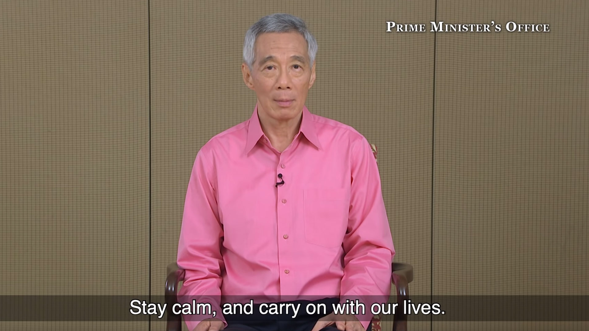 PM Lee Hsien Loong on the Novel Coronavirus situation in Singapore